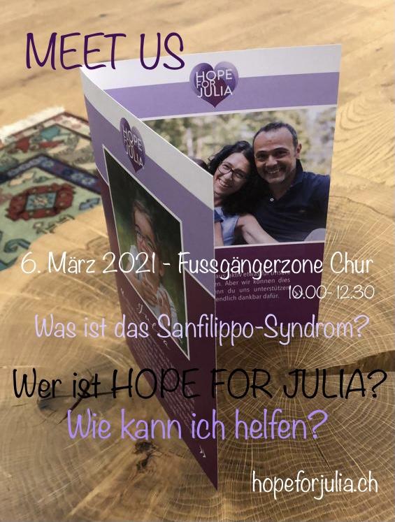 MEET US – 6. März 2021 – Flyeraktion in Chur